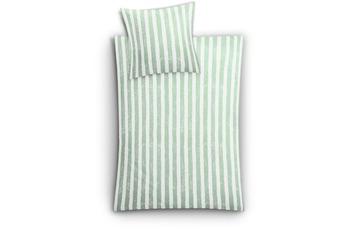 Kleine Wolke Bettwäsche Stripe, Farn