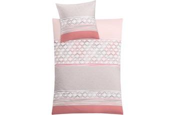 Kleine Wolke Bettwäsche Sueno, rose