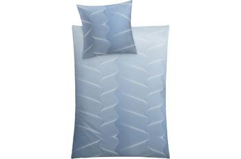 Kleine Wolke Bettwäsche Swirl, Blau