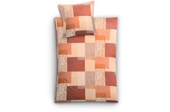 Kleine Wolke Bettwäsche Texture Kastanie