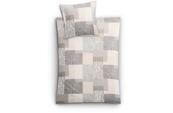 Kleine Wolke Bettwäsche Texture, Taupe
