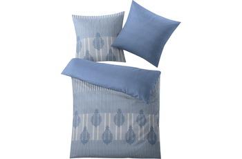Kleine Wolke Bettwäsche Tudor Blau