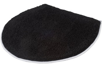 Kleine Wolke Deckelbezug Soft Schwarz 47 cm x 50 cm