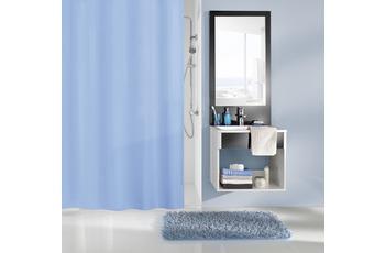 Kleine Wolke Duschvorhang Caravelle, Krokusblau