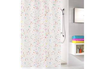 Kleine Wolke Duschvorhang Confetti Clear 180 x 200 cm (Breite x Höhe)