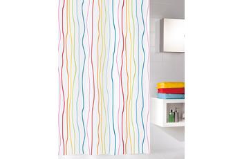 Kleine Wolke Duschvorhang Jolie Multicolor 120 x 200 cm (Breite x Höhe)