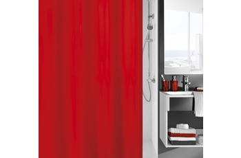 Kleine Wolke Duschvorhang Kito, Rot