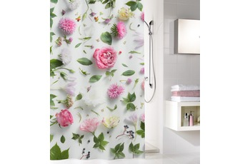 Kleine Wolke Duschvorhang Rosalie, Multicolor 180 x 200 cm