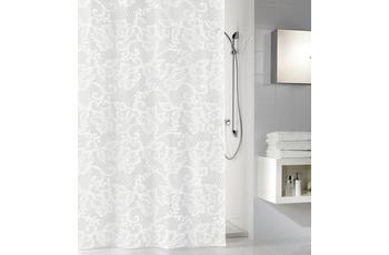 Kleine Wolke Duschvorhang Spitze, Weiss 180 x 200 cm