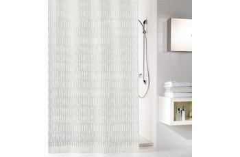 Kleine Wolke Duschvorhang Zora, Weiss 180 x 200 cm
