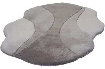 Kleine Wolke Badteppich Excelsior Platin 105 cm x 75 cm