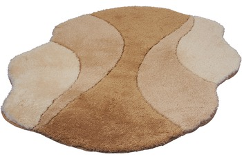 Kleine Wolke Badteppich Excelsior Toffee 105 cm x 75 cm