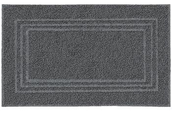 Kleine Wolke Frottier-Badvorleger Lodge Dunkelgrau 50 cm x 80 cm