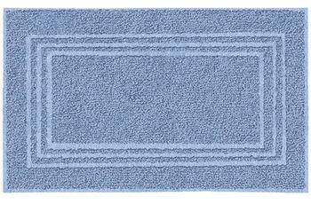 Kleine Wolke Frottiervorleger Lodge, Iceblue 50 x 80 cm