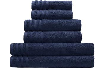 Kleine Wolke Handtuch/ Duschtuch Royal, Atlantikblau