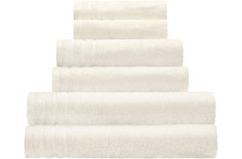 Kleine Wolke Handtuch/ Duschtuch Royal, Ecru