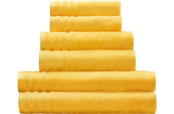 Kleine Wolke Handtuch/ Duschtuch Royal, Gelb