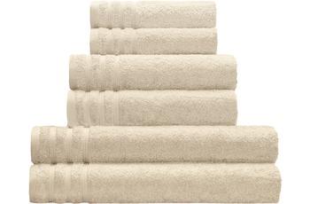 Kleine Wolke Handtuch Royal, Sandbeige