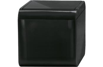 Kleine Wolke Kosmetikeimer Bobby, Schwarz 1,5 liter