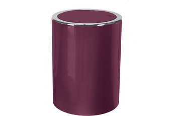 Kleine Wolke Kosmetikeimer Clap, Burgund 19x24,5x19/ 5 Liter