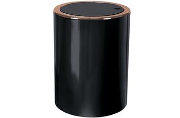 Kleine Wolke Kosmetikeimer Clap Copper, Schwarz 5 Liter