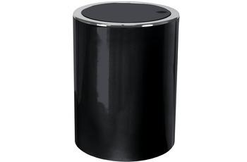 Kleine Wolke Kosmetikeimer Clap Mini, Schwarz 11x15x11/ 1,5 Liter