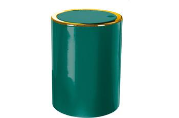 Kleine Wolke Kosmetikeimer Golden Clap Smaragd 5 Liter 5 Liter