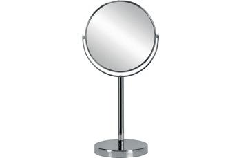 Kleine Wolke Kosmetikspiegel Base Mirror, Silber 17 x 33 x 12 cm