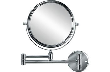 Kleine Wolke Kosmetikspiegel Ridge Mirror, Silber 24,6 x 26 x 3,5 cm