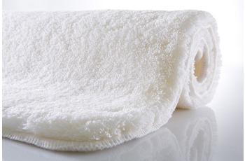 Kleine Wolke Badteppich, Relax, Polarweiss, rutschhemmender Rücken, Öko-Tex zertifiziert