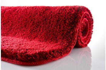 Kleine Wolke Badteppich, Relax, Rubin, rutschhemmender Rücken, Öko-Tex zertifiziert