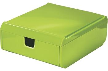 Kleine Wolke Schubladenbox Easy Box, Grün Schubladenbox 120x53x150 mm