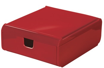 Kleine Wolke Schubladenbox Easy Box, Rot Schubladenbox 120x53x150 mm