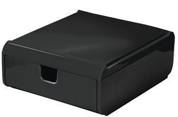 Kleine Wolke Schubladenbox Easy Box, Schwarz Schubladenbox 120x53x150 mm
