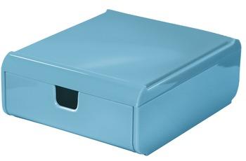 Kleine Wolke Schubladenbox Easy Box, Türkis Schubladenbox 120x53x150 mm
