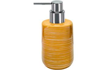 Kleine Wolke Seifenspender Argentic Goldgelb 7x16,3x7cm/  320ml