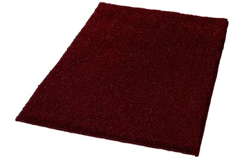Kleine Wolke Badteppich Star Weinrot