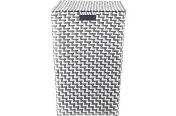 Kleine Wolke Wäschebox Double Laundry Box, Platin 35x55 cm