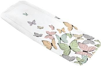 Kleine Wolke Wanneneinlage Butterflies, Multicolor 36 x 92 cm Wanneneinlage
