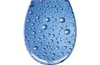 Kleine Wolke WC-Sitz Bubble, Marineblau 37x 45 cm