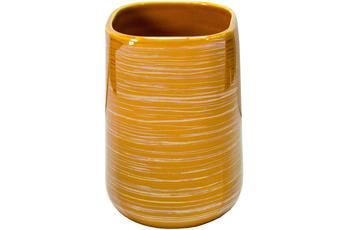 Kleine Wolke Zahnputzbecher Argentic Goldgelb 7x10,5x7