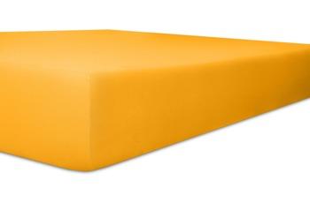 """Kneer Spannbettlaken Fein-Jersey """"Qualität 50"""" Farbe 03 honig"""