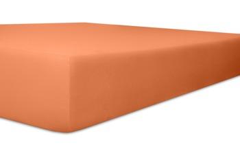 """Kneer Spannbettlaken Fein-Jersey """"Qualität 50"""" Farbe 70 karamel"""