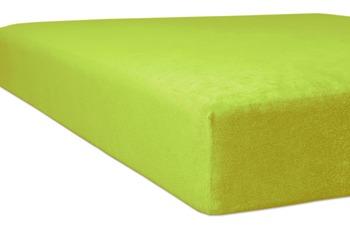 """Kneer Spannbettlaken Flausch-Frottee """"Qualität 10"""", Farbe 54 limone"""