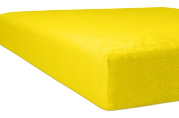 """Kneer Frottee """"Qualität 40"""", Farbe 04 mais Frottee-Kinder-Spannbetttuch 60/ 120 - 70/ 140 cm"""