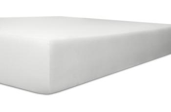 Kneer Exclusiv Stretch Spannbetttuch, Farbe 01 weiß