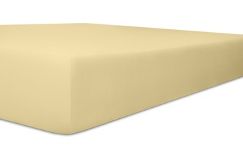 Kneer Single Jersey Spannbetttuch, Farbe 53 kiesel