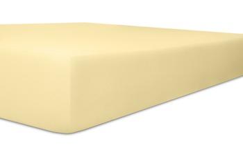 """Kneer Spannbetttuch Single-Jersey """"Qualität 60"""" Farbe 02 leinen"""
