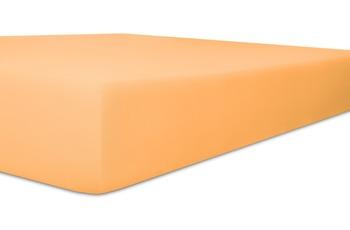 """Kneer Spannbetttuch Single-Jersey """"Qualität 60"""" Farbe 08 pfirsich"""
