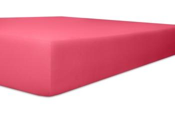 """Kneer Spannbetttuch Single-Jersey """"Qualität 60"""", Farbe 20 pink"""